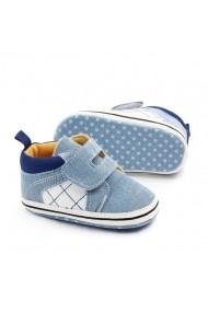 Tenisi Superbebeshoes pentru bebelusi MBD2216-3-Bleu