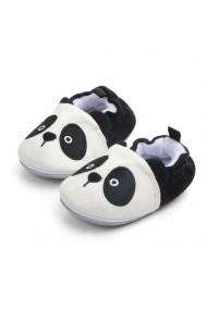 Botosei Superbebeshoes bebelusi Little Baby Panda MDCS005-Alb