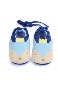 Botosei Superbebeshoes bebelusi Cap de vulpita MDD0937-1-Albastru