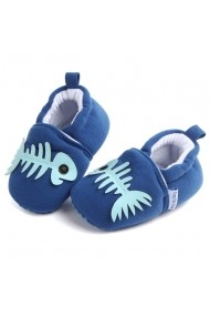 Botosei Superbebeshoes bebelusi Fish LID0757-6-Albastru