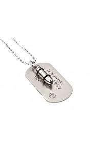 Medalion MBrands 041 Dog Tag Rambo Argintiu