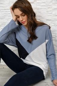 Bluza Alacati Stili ALC-017-183-DE Bleumarin