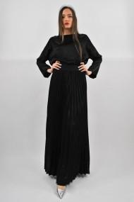 Fusta lunga eleganta ELES & CO GLN001 Neagra