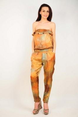 Salopeta RVL Fashion oranj, preturi, ieftine