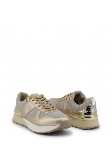 Pantofi sport U.S. Polo ASSN. FRIDA4103W8_TY1_GOLD