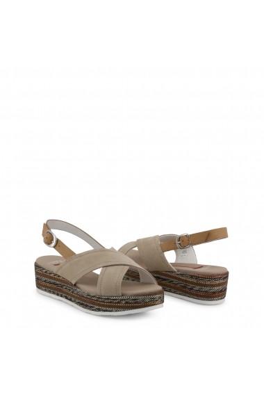Sandale cu toc U.S. Polo ASSN. JENNA4081S9_S1_BEI