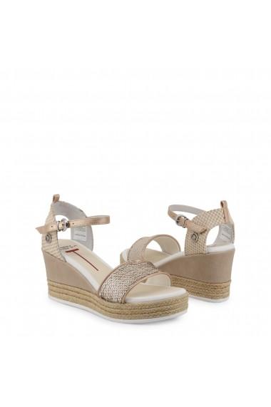 Sandale cu toc U.S. Polo ASSN. DONET4176S9_T1_CRE