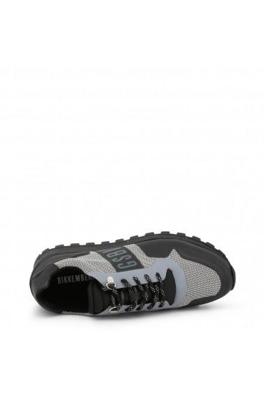 Pantofi sport Bikkembergs FEND-ER_2217_GREY-BLACK Negru