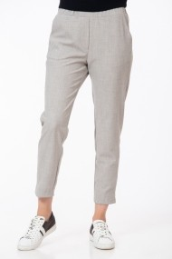 Pantaloni drepti casual Be You Gri