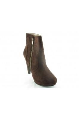 PAULA SOLER Woman Low boots - za119040 marron