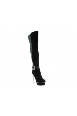 1TO3 Woman Boots - v11648 negro