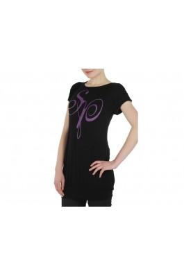 Tricou SOUTH POLE negru-violet- els, preturi, ieftine