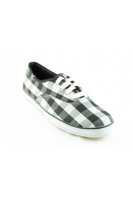 Pantofi sport KEDS in carouri alb-negru, preturi, ieftine