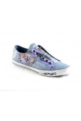FashionUp! - ED HARDY Man Sneakers - f0l102m blue - BARBATI, Incaltaminte, Pantofi sport