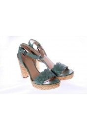 GUESS Women Sandals - FL2SLLLEA03 GREEN - els