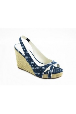 Sandale GUESS cu platforma si imprimeu - els, preturi, ieftine