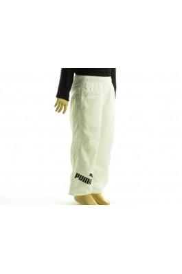 Pantaloni sport unisex PUMA albi- els, preturi, ieftine