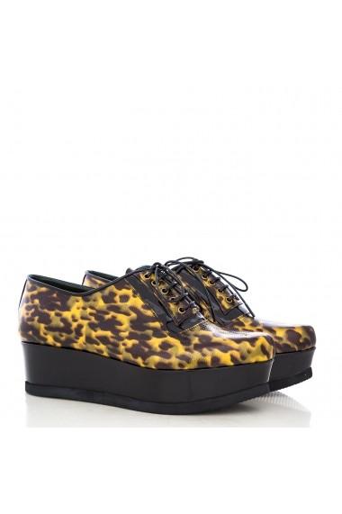 Pantofi pentru femei CONDUR by alexandru cu imprimeu