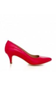 Pantofi cu toc CONDUR by alexandru Nicolette rosu
