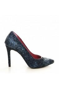 Pantofi cu toc CONDUR by alexandru Lora bleumarin