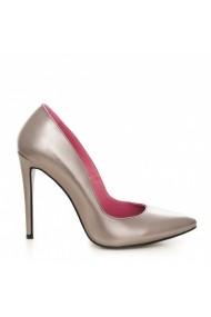 Pantofi cu toc CONDUR by alexandru Forever gri