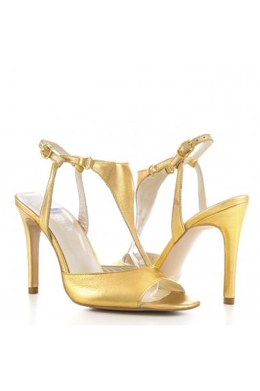 Sandale pentru femei CONDUR by alexandru aurii cu bareta