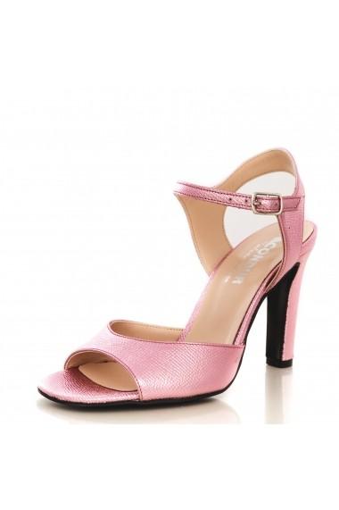 Sandale cu toc cu toc CONDUR by alexandru spechio lila