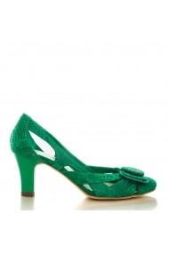 Sandale cu toc CONDUR by alexandru presaj verde