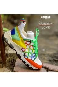 Pantofi sport CONDUR by alexandru Athleisure Summer multicolor