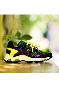 Pantofi sport CONDUR by alexandru Athleisure neon