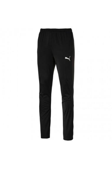 Pantaloni pentru barbati Puma  Liga Sideline Poly Pant Core M 655948 03