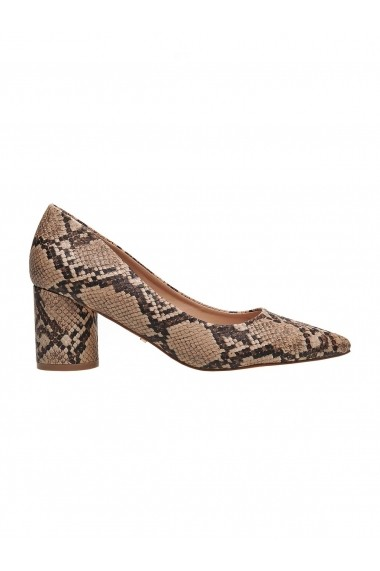 Pantofi cu toc cu toc Top Secret TOP-SBU0735BE Animal print