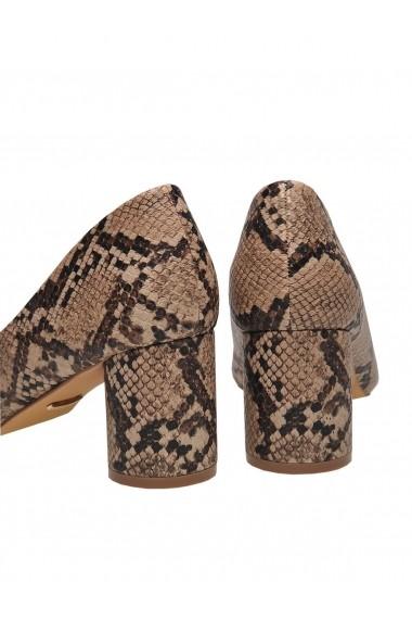 Pantofi cu toc cu toc Top Secret TOP-SBU0735BE Animal print