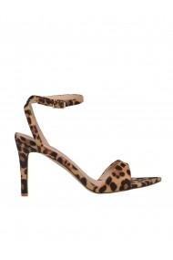Sandale cu toc Top Secret TOP-SBU0768BE Animal print