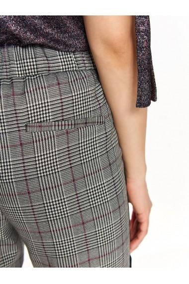 Pantaloni drepti Top Secret TOP-SSP3203SZ Carouri