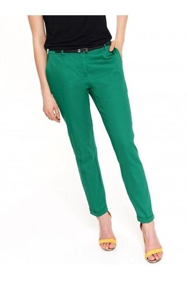 Pantaloni drepti Top Secret TOP-SSP3261ZI Verde