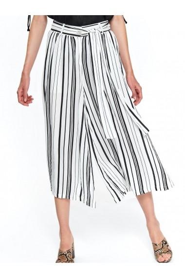 Pantaloni trei sferturi Top Secret TOP-SSP3285BI Dungi