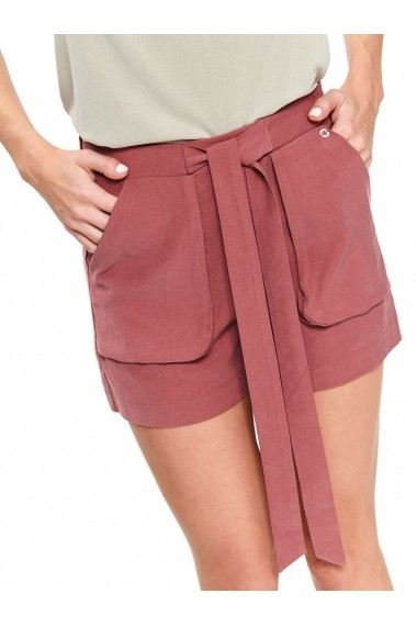 Pantaloni scurti Top Secret TOP-SSZ0933CR Caramiziu