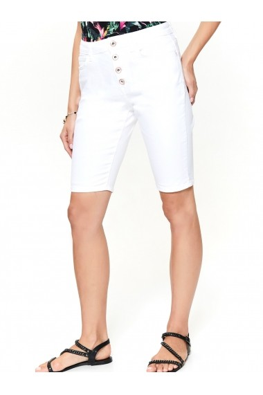 Pantaloni scurti Top Secret TOP-SSZ1009BI Alb