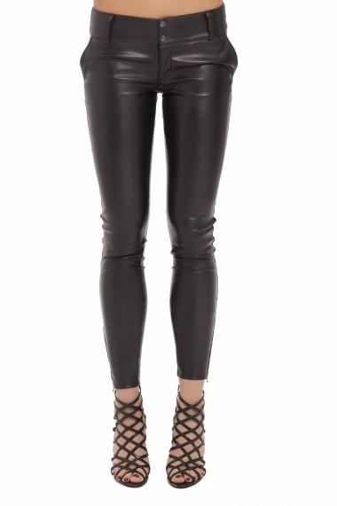 Pantaloni pentru femei marca Sokrates by Andra Matei din piele ecologica, Jolie