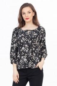 Bluza Sense Fleur negru