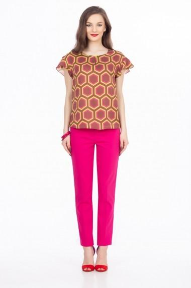 Bluza Sense Picasso maro+roz