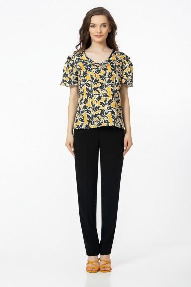 Bluza Sense African Mood negru+galben