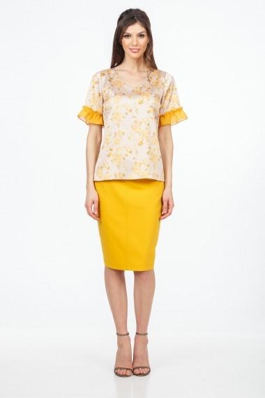 Bluza Sense Amelie crem+galben