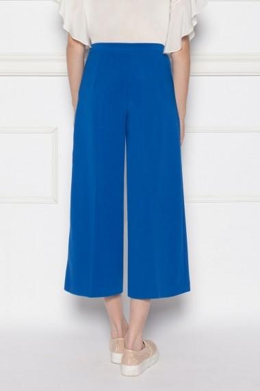 Pantaloni NISSA bleumarin culottes Albastru electric