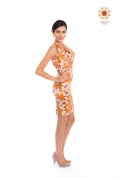 Rochie Cardinale Rosa DUO-CR001CG floral
