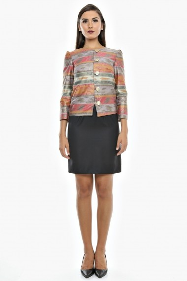Blazer de ocazie Afternoon Tea - Cardinale Rosa multicolor