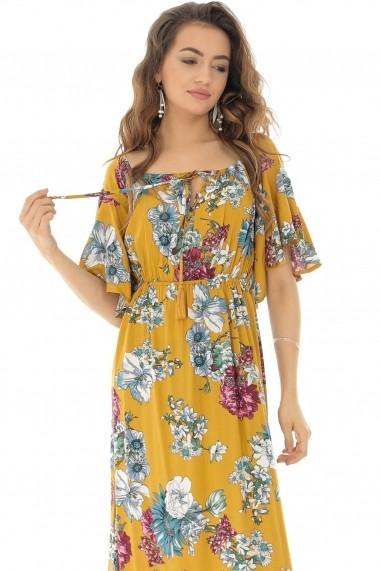 Rochie lunga Roh Boutique maxi ROH - DR3839 Floral