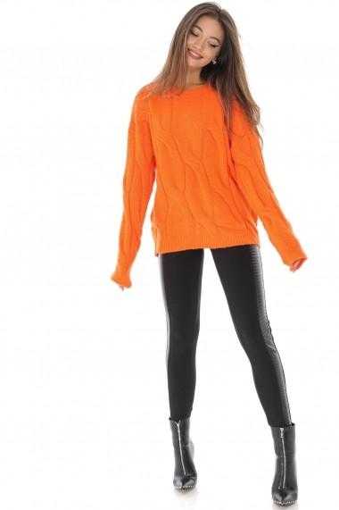 Pulover Roh Boutique BR2171 portocaliu
