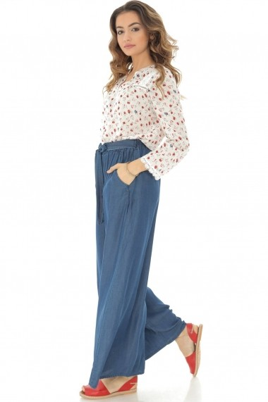 Pantaloni largi Roh Boutique largi - TR310 denim